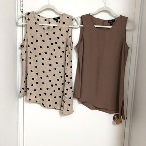 Le Château set of 2 small camisoles new